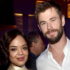 Chris Hemsworth and Tessa Thompson Reunite in Men In Black International