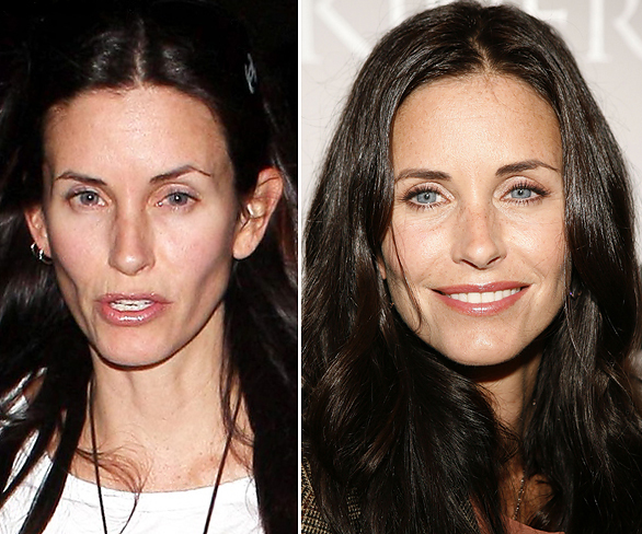 Courteney Cox Disappearing