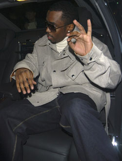 P. Diddy Launches Chauffeur Service