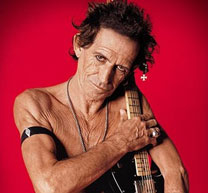 Keith Richards' Dead Body for Science