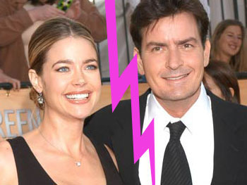 Rotten Charlie Sheen and Denise Richards