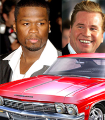 50 Cent Gives 100 000 Car To Val Kilmer