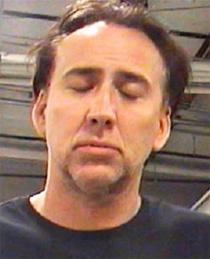 Nicolas Cage Arrested