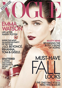 Emma Watson on the Cover of Vogue