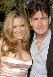 Charlie Sheen Celebrates his Birthday with Brooke Mueller