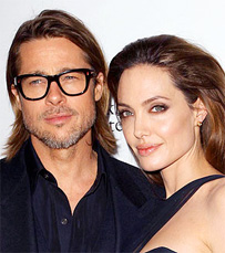 Engaged: Brad Pitt and Angelina Jolie