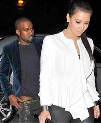 Kanye Caught With His Pants Down