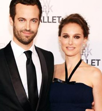 Natalie Portman and Benjamin Millepied Married