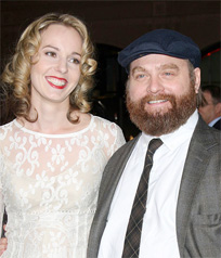Zach Galifianakis Is Officially Married!