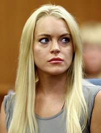 Lindsay Lohan Blames Stress For Her Damaged Lungs