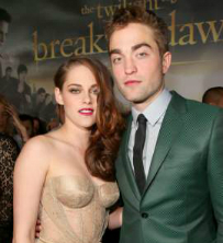 Robert Pattinson and Kristen Stewart On Breaking Dawn 2 Premiere