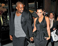 Kim Kardashian Baby Bump: Made in Italy